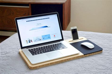 mobile air desk cool things mobile desk laptop stand