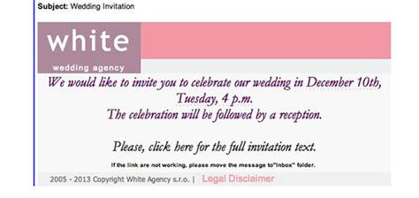 inviting for wedding through email sle email wedding invitations email wedding invitations by