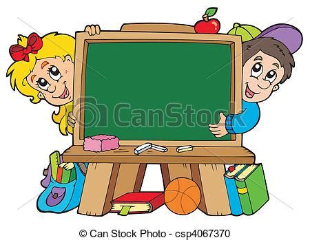 clipart scuola vektor clipart schule kinder tafel zwei schule