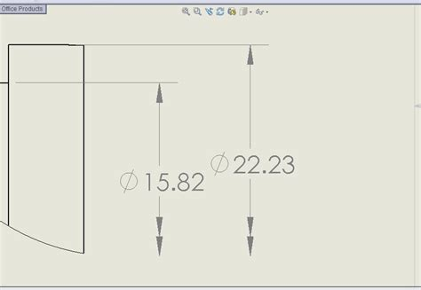 dimensions of a quarter section solidworks drawings dimensions images