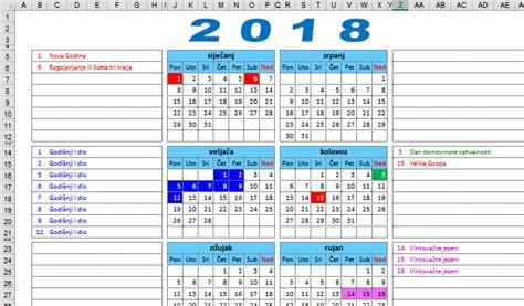 Kalendar S Blagdanima 2018 Kalendar Za 2018 28 Images Kalendar 2018 Malaysia