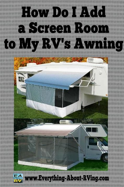 rv awning instructions 17 best images about seasonal csite ideas on pinterest