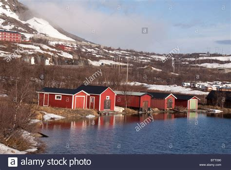 Swedish Lakeside Cabins by Lakeside Cabins In Winter Riksgransen Lappland Sweden
