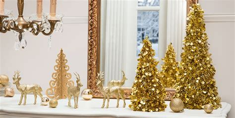 Decorating A Dining Room Buffet gold christmas theme party gold christmas decorations