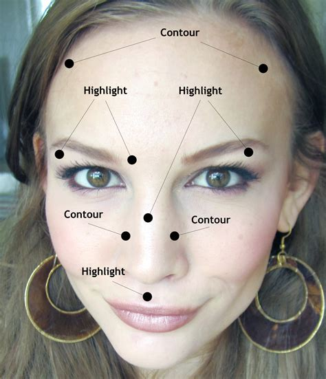 Makeup Contour makeup 101 contouring highlighting saccone joly