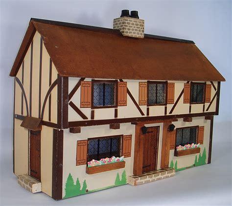 what makes a house a tudor my vintage dollhouses my rich toys houses