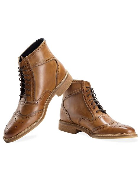 smith goodwin goodwin smith lumb brogue boot