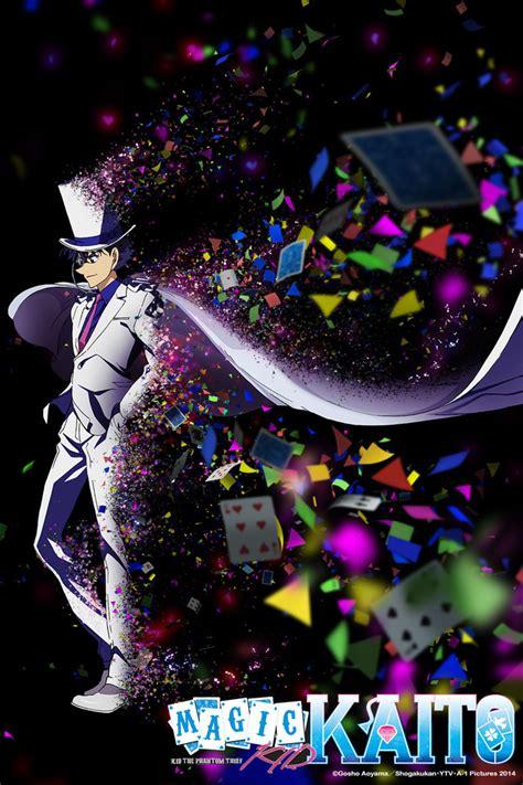 anime genre magic anime magic kaito 1412 genre crime comedy story kaito