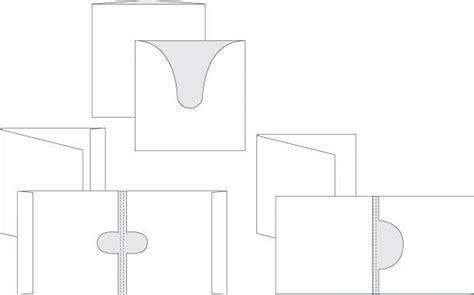 key card envelope template custom presentation packaging folders digital printer