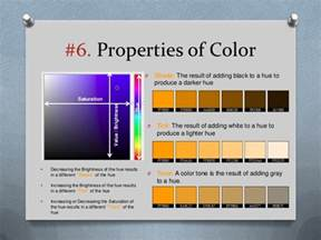 properties of color color theory