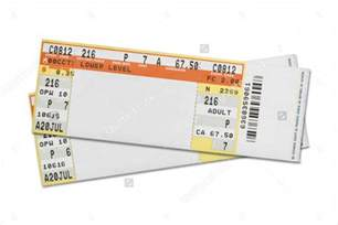 Concert Ticket Templates by 37 Ticket Templates