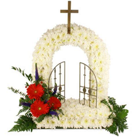 Gates of Heaven | Walkers Flowers | Hanley, Stoke-on-Trent ... Gates Of Heaven Design