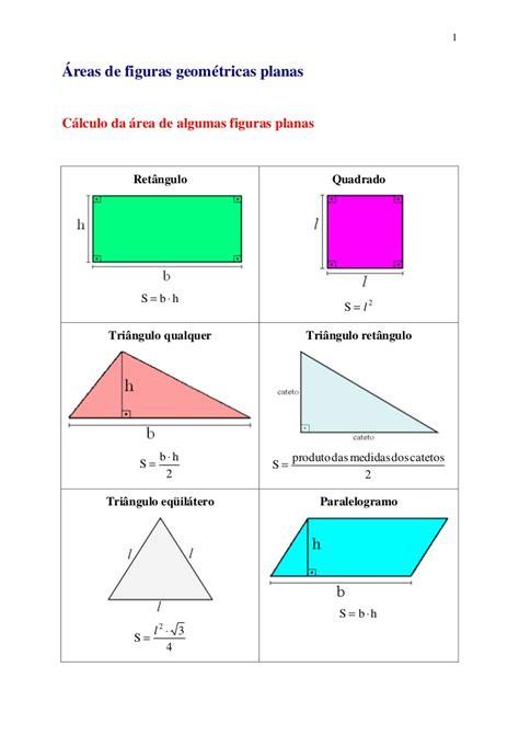figuras geometricas quadrado mat areas de figuras geometricas planas