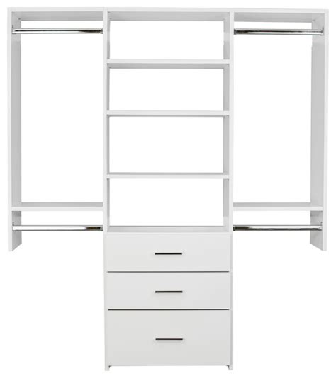Hanging Closet Organizer With Drawers Closet Essentials Capital Tower With Drawers And Hanging