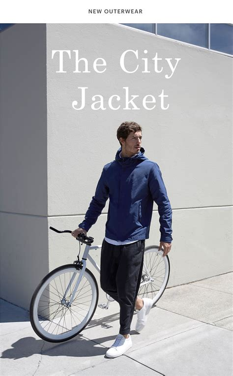 And The City The Is Here by Everlane The City Jacket Is Here Milled