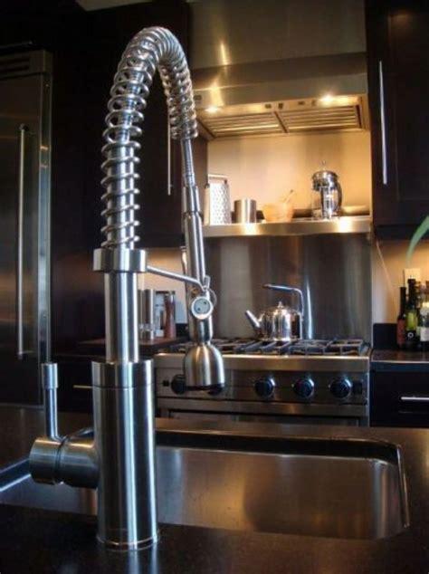 Kitchen Faucets For Quartz Countertops Modern Kitchen Stainless Steel Backsplash Squeeze Faucet