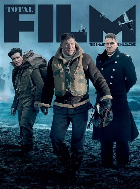 dunkirk film cast 2017 dunkirk di christopher nolan sulla cover di total film