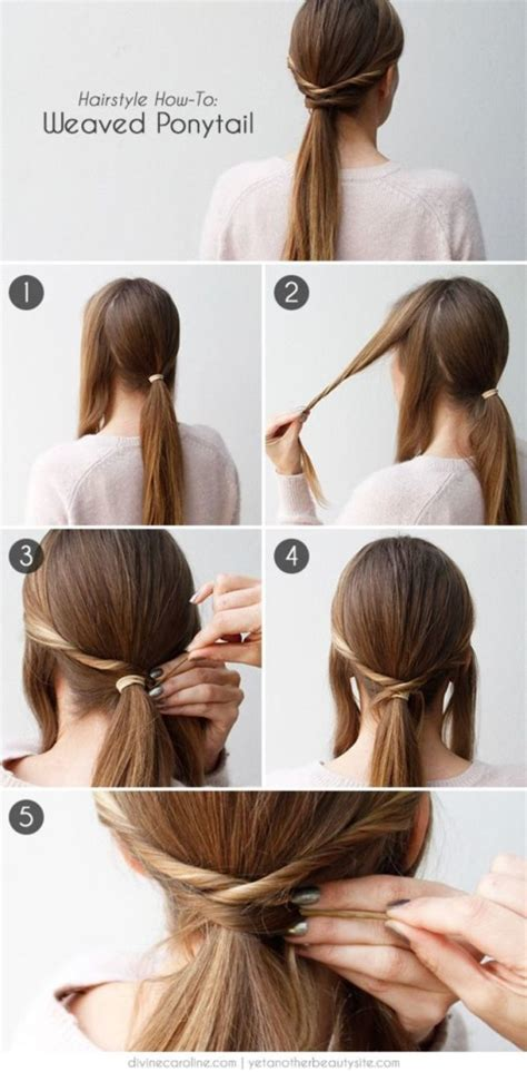 diy hairstyles quick and easy easy and fast diy hairstyles tutorials fashion beauty news