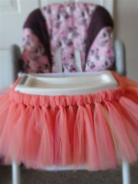 How To Make High Chair Tutu by Scrappin Obsession High Chair Tutu S 1st