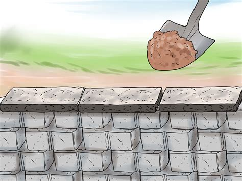 how to build garden retaining wall how to build a retaining wall with pictures wikihow