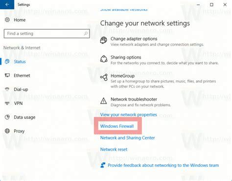 resetting windows firewall how to reset windows firewall in windows 10 winaero