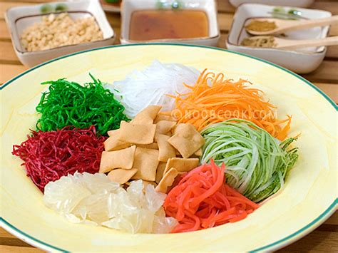 new year fish yu sheng yu sheng recipe yee sang recipe lo hei