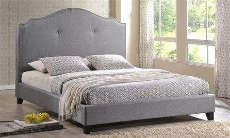 Upholstered Bed Deals Marsha Upholstered Bed Groupon Goods