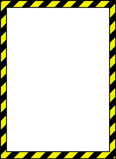 caution border template etame mibawa co