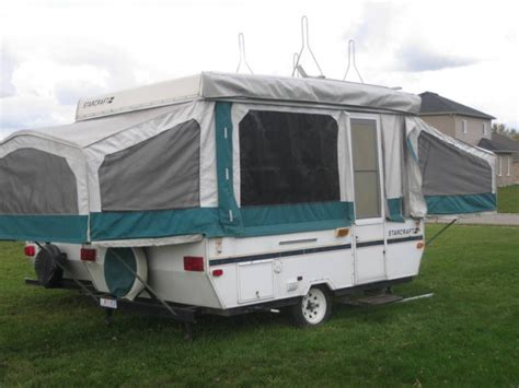 hardtop awnings for trailers starcraft hardtop tent trailer 1995 ready to go 3300 00