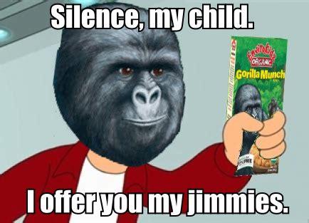 Gorilla Munch Meme - rustled my jimmies on tumblr