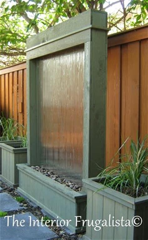 garden water wall 7 soothing diy garden fountains the garden glove
