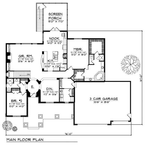 westfield 2194 square foot two story floor plan ranch home with 2 bdrms 2194 sq ft house plan 101 1498