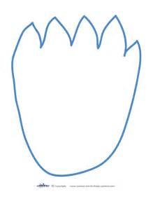 Footprint Pattern Template by Printable Footprint Pattern Clipart Best