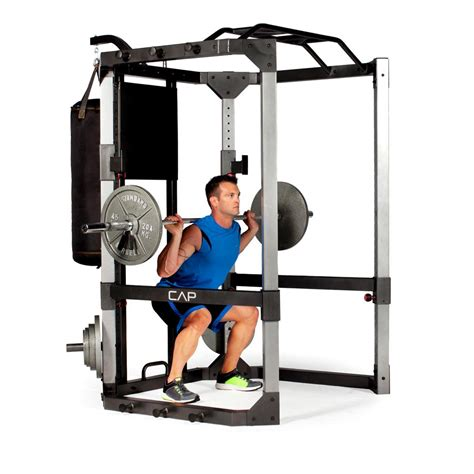 cap barbell ultimate power cage with
