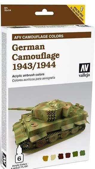 vallejo paints 8ml bottle german camouflage 1943 44 afv