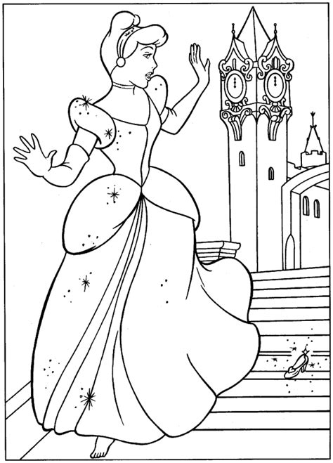 cinderella coloring page princess cinderella coloring pages ideas