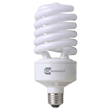 150 watt light bulb equivalent ecosmart 150 watt equivalent spiral non dimmable cfl light