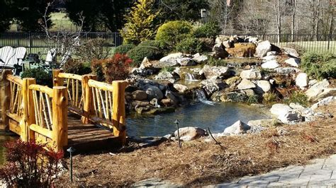 outdoor living waterscapes a customer pond project by living waterscapes in
