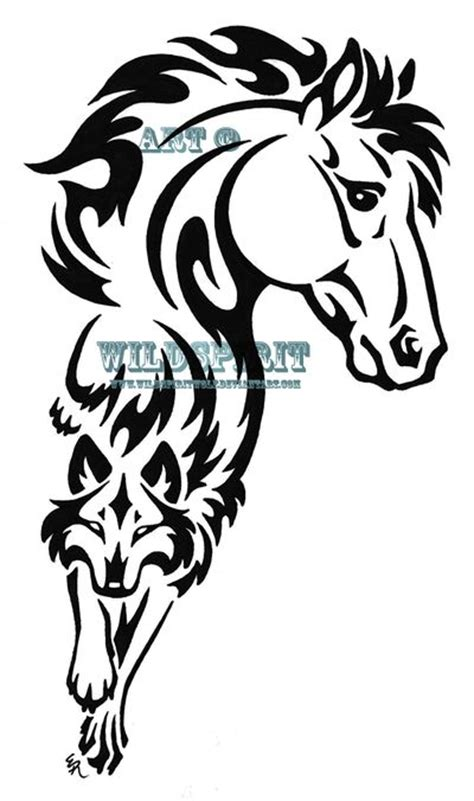 horse tribal tattoos 17 best ideas about tribal on