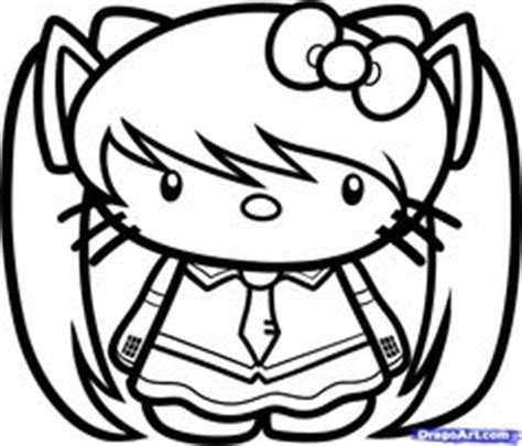 hello kitty coloring pages nerd best photos of nerdy hello kitty coloring pages hello