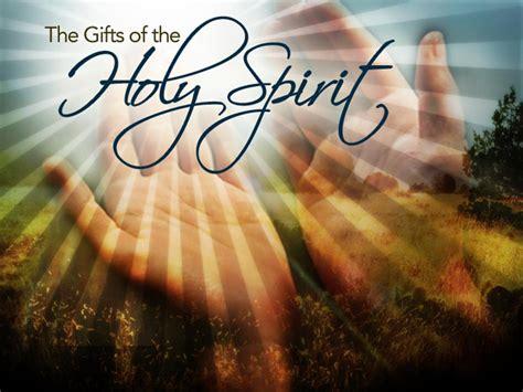 gifts   holy spirit   coming tribulation