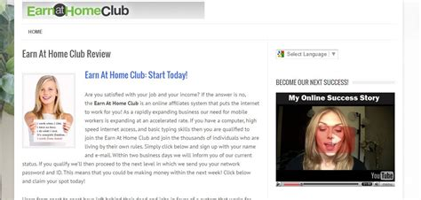 earn at home club we ve seen this scam before i quot ve