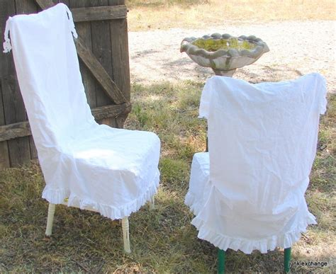 chair cover french country natural cotton muslin chair