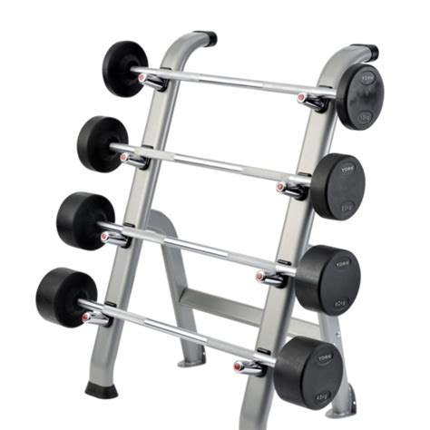 Barbel Fullset york pro style barbell set with rack 10kg 17 5kg chandler sports