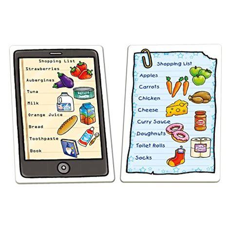 lista giochi da tavolo orchard toys lista della spesa shopping list gioco da