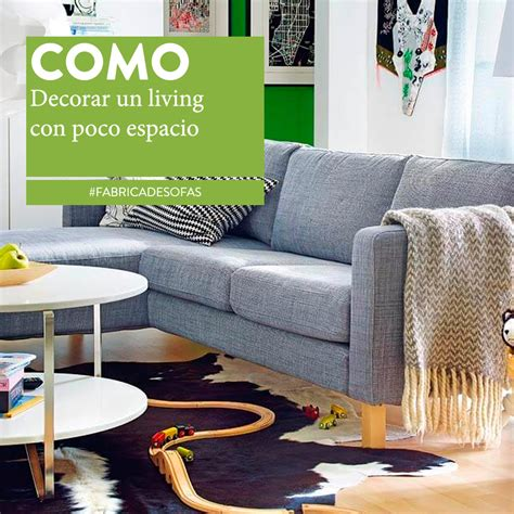 como decorar  living pequeno sillones europa