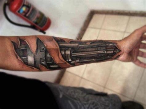 bionic arm sleeve tattoo designs bionic arm arm tattoos and