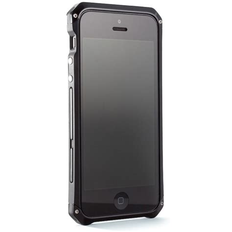 element solace iphone 5 s element solace chroma cover for iphone 5 5s black