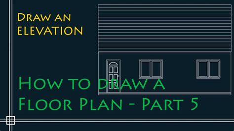 how to sketch a floor plan youtube autocad 2d basics tutorial to draw a simple floor plan