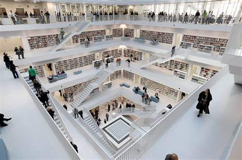 the new stuttgart city library